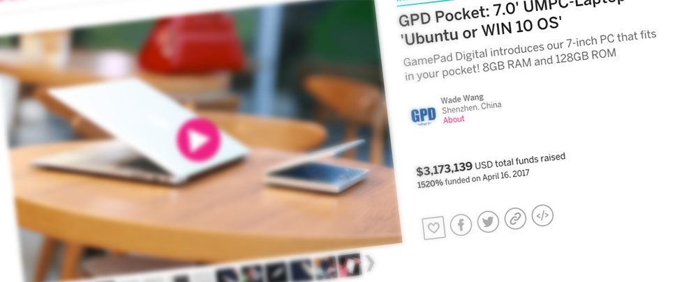 A laptop that fits in your pocket, the GPD Pocket | The blog of Max